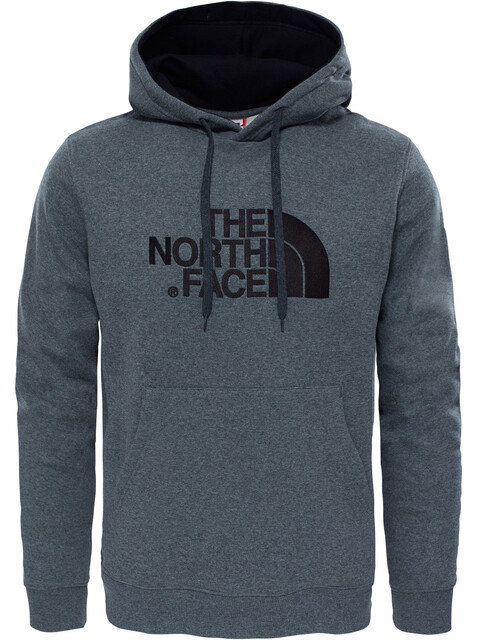 The North Face Drew Peak Pullover Hoodie Men TNF Medium Grey Heather/TNF Black